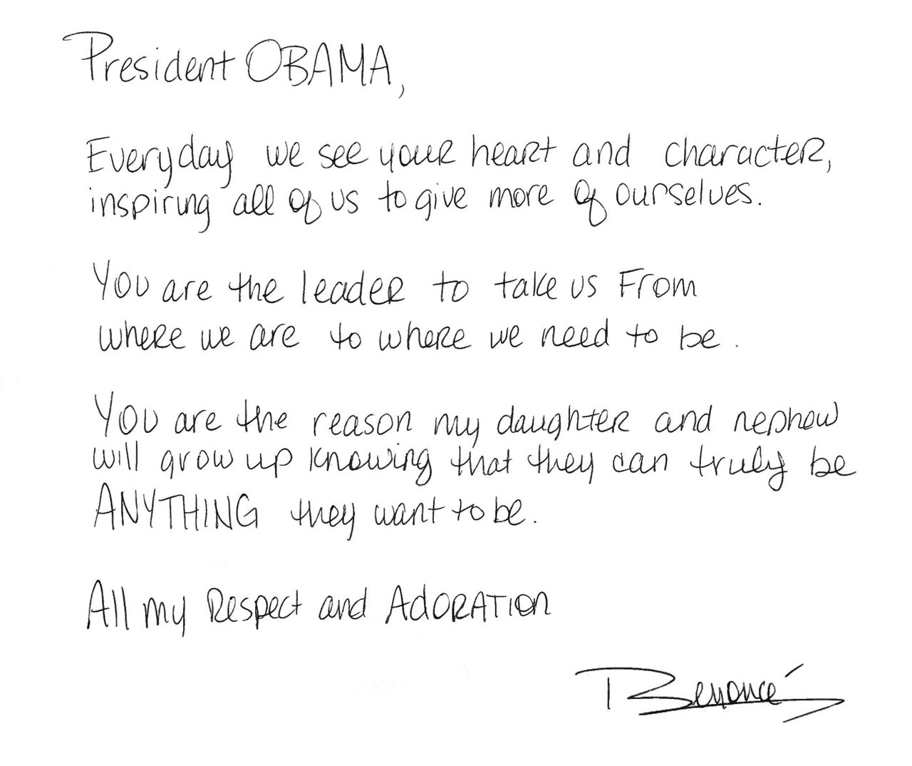 How To Write A Letter To President Obama Mersnoforum