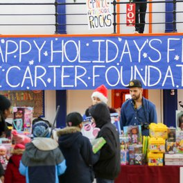 The Shawn Carter Foundation's Annual Toy Giveaway